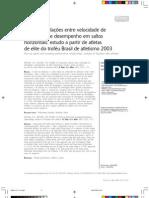 Moura, Moura, Borin - 2008 - Buscando relações entre velocidade de abordagem e desempenho em saltos horizontais estudo a partir de atletas de elite do troféu Brasil de atletismo 20