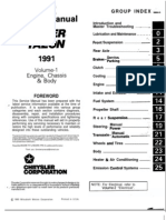 Eclipse Spyder 1997 VOL 1 Service Manual | Manual Transmission