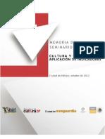 Libro Seminario Indicadores 2012