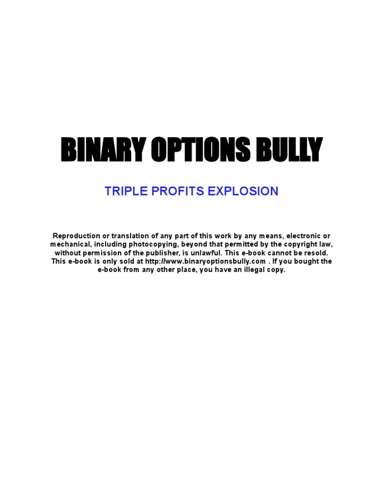 Binary options bully results super feds look into who runs sport betting sites