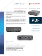 RFC Mantis II Reader Data Sheet (2005)