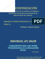 Tema 3.1 Modernizaci n