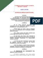 Historia Del Derecho Constitucional
