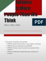 gun violence advisory