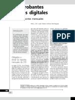 Comprobantes fiscales digitales. Envío de reportes mensuales