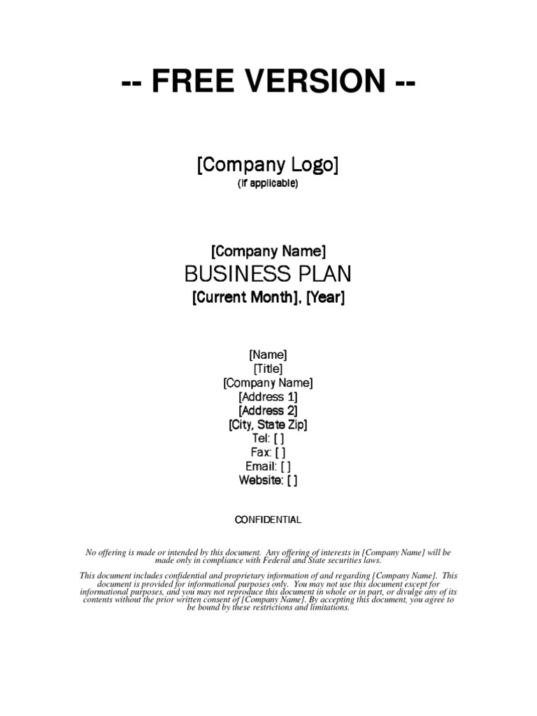 Growthink Business Plan Template Download Free Business Plan Competitive Advantage