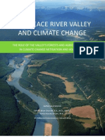 BC's Peace River Valley and Climate Change