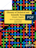 Glossary of Technical and Scientific Terms (Alphabetic sorting)