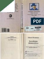 BERNSTEIN, Eduard. Socialismo democrático, Madrid, Tecnos, 1990