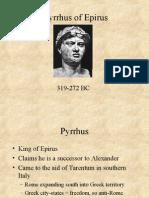 AWPyrrhus of Epirus