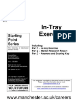 In Tray Exercise