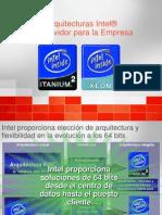 Arquitecturas Intel de Servidor Para La Empresa