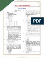 IES OBJ Civil Engineering 2004 Paper II