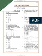 IES OBJ Civil Engineering 2007 Paper II
