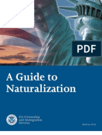 Process of Naturalization Form N 400