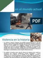 Violencia en El Mundo Actual