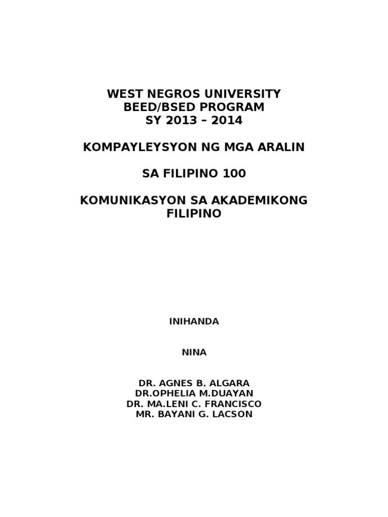 epekto ng salitang balbal sa mga mag aaral Epekto ng panonood ng mga teleserye sa mga mag-aaral ng gensantos founddation college, inc kabanata i ang suliranin at sandigan ng pag-aaral panimula.