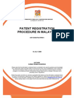 Patent Registration Procedure in Malaysia