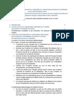 Note lecture F de Vathaire - Etude Corse Thyroïde
