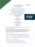 Ley Carrera Docente Nicaragua