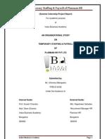Sip report of Planman HR (Temp Staffing)