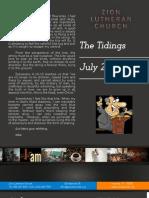 The Tidings July 2013