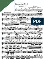 IMSLP209677-PMLP12453-Liszt-Sitt Rhapsodie N 2 Vn