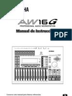 Manual de Instrucciones Yamaha AW16GS