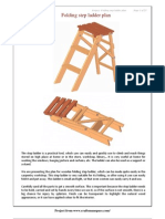 Folding Step Ladder Plan