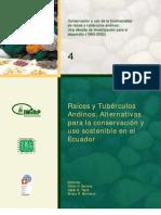Conservacion y Uso de La Biodiversidad de Los Tuberculios Andinos