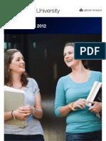 Monash University Annual Report 2012