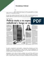 Ejemplos Periodismo Policial