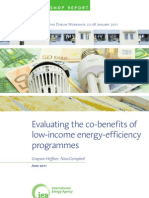 Low Income Energy Efficiency