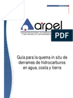 Guía ARPEL Quema in situ