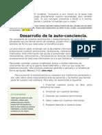 Desarrollo de La Conciencia.