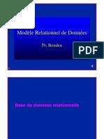 Chap Base de Donnees Relationnelle