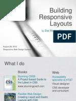 Building Responsive Layouts RWDSummit 120828