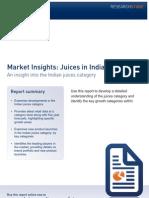 Indian Juice Industry
