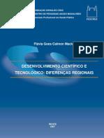 Desenvolvimento científico e tecnológico