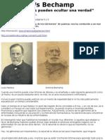 Pasteur -Vs- Bechamp Diez Mil Mentiras Pueden Ocultar Una Verdad