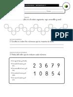 Evaluación Inicial Matemáticas 1º