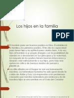 Los Hijos en La Familia. (1)