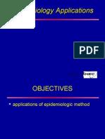 Epidemiology Applications