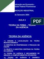 Aula 3-Teoria Da Firma-Teoria Da Agencia1