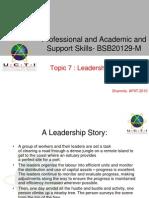 Leadership Theories 7