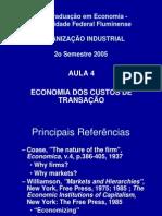 Aula_4-Teoria de Custos de Transacao
