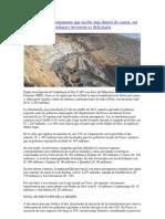 Canon minero en Cusco