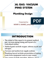 Medical Gas Vaccum Piping System
