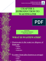 Chapter 1-Definition of Watewater