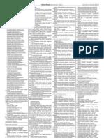 Diário Oficial - Turmas 108 à 111